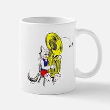 Tuba Cat Mug