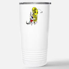 Tuba Cat Stainless Steel Travel Mug