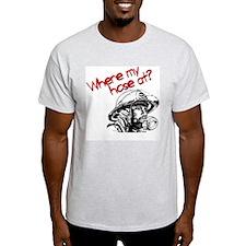 Where My Hose At? Ash Grey T-Shirt