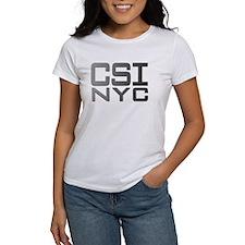 CSI NYC GREY Tee