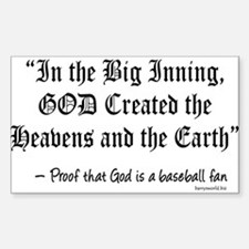 Big Inning Rectangle Sticker 10 pk)