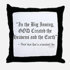Big Inning Throw Pillow
