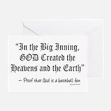 Big Inning Greeting Cards (Pk of 20)