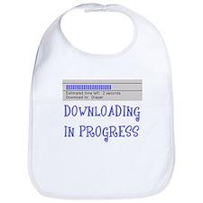 Diaper Download in Progress Bib