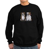 English bulldog Sweatshirt (dark)