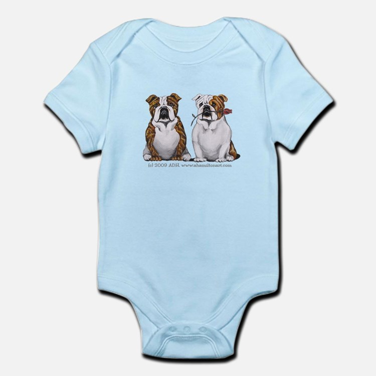 Bulldog Romance Infant Bodysuit