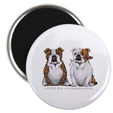 Bulldog Romance Magnet