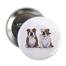 "Bulldog Romance 2.25"" Button"