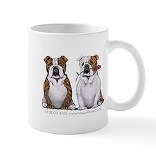 Bulldog Romance Mug