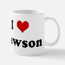 I Love Dawson Mug