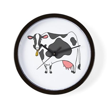 Dairy Cow Wall Clock