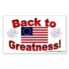 Back 2 Greatness (sticker)