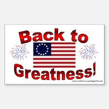 Back 2 Greatness (sticker)
