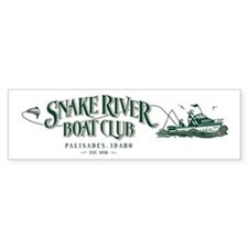 Boat Club Forest/Tan Bumper Bumper Sticker
