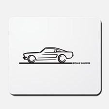 Mustang 64 to 66 Fastback Mousepad