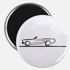 Mustang 64 to 66 Convertible Magnet