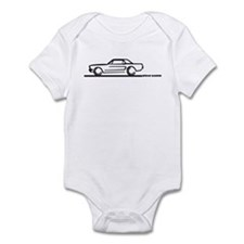 Mustang 64 to 66 Hardtop Infant Bodysuit