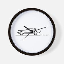 Mustang 64 to 66 Hardtop Wall Clock