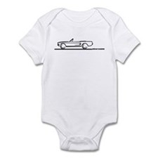 1967 1968 Mustang Convertible Infant Bodysuit