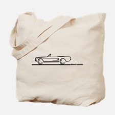 1967 1968 Mustang Convertible Tote Bag