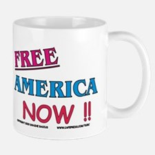 FREE America NOW !! Mug