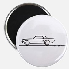 Mustang 67 and 68 Hardtop Magnet