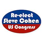 Re-elect Steve Cohen oval bumper sticker