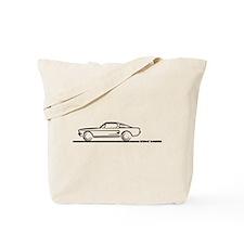 1967 1968 Mustang Fastback Tote Bag