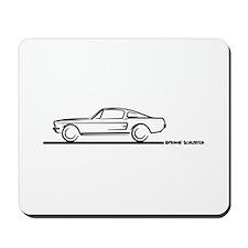 1967 1968 Mustang Fastback Mousepad