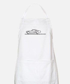 1967 1968 Mustang Fastback BBQ Apron