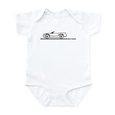 2005-2010 Mustang Convertible Infant Bodysuit