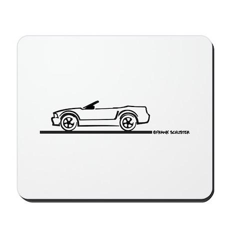 2005-2010 Mustang Convertible Mousepad