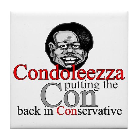 Condoleezza Tile Coaster