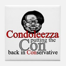 Condoleezza Tile Coaster