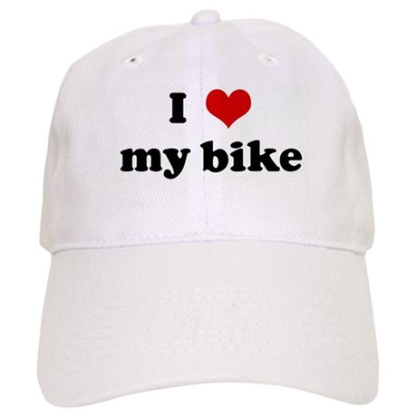I Love my bike Cap