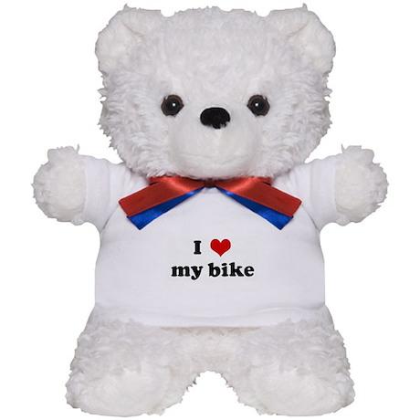 I Love my bike Teddy Bear