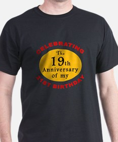 Celebrating 40th Birthday T-Shirt