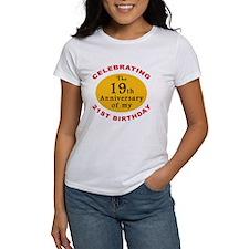 Celebrating 40th Birthday Tee