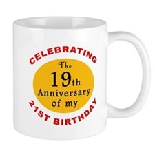 Celebrating 40th Birthday Mug