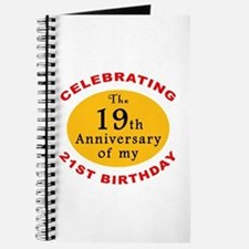 Celebrating 40th Birthday Journal
