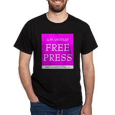 LAFP Logo - Pink T-Shirt