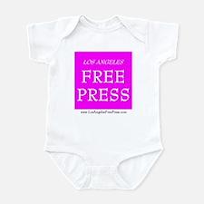 LAFP Logo - Pink Infant Bodysuit