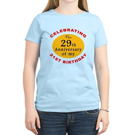 Celebrating 50th Birthday Women's Light T-Shirt