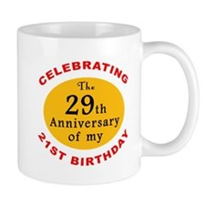 Celebrating 50th Birthday Mug