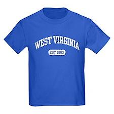 West Virginia Est 1863 T