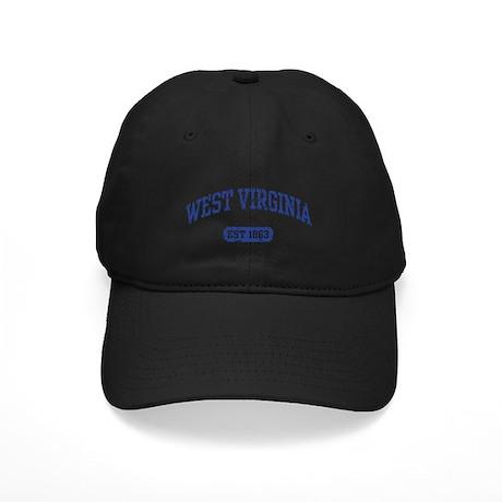 West Virginia Est 1863 Black Cap