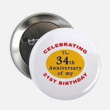 "Celebrating 55th Birthday 2.25"" Button"