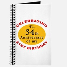 Celebrating 55th Birthday Journal