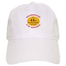 Celebrating 65th Birthday Baseball Baseball Cap