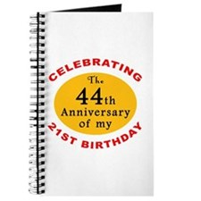 Celebrating 65th Birthday Journal